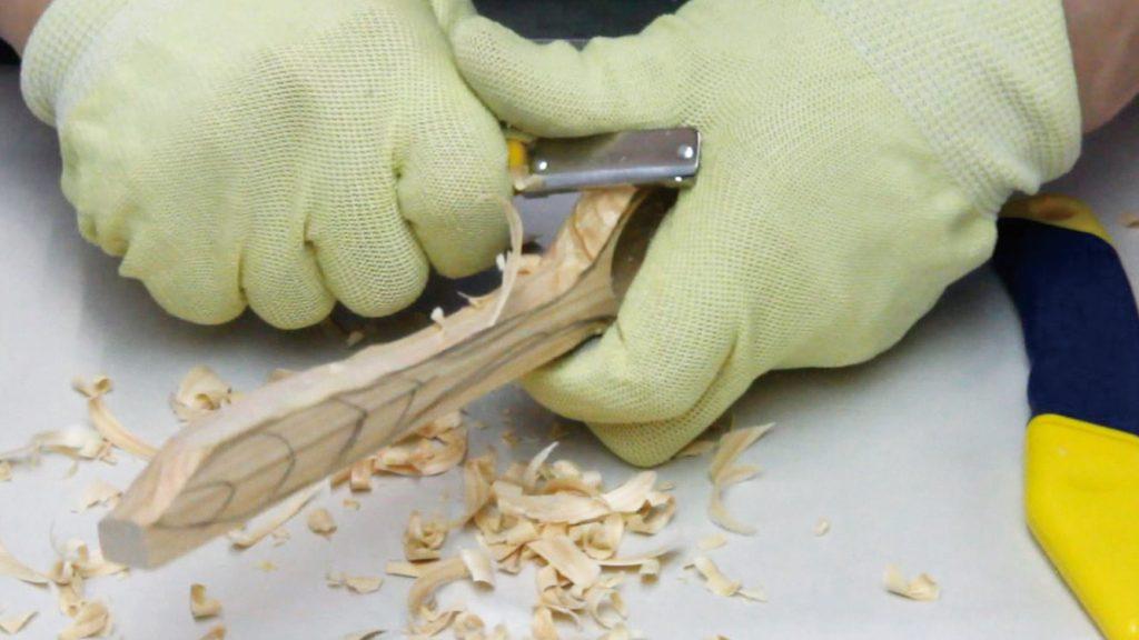 木のスプーンやバターナイフをつくろう説明画像