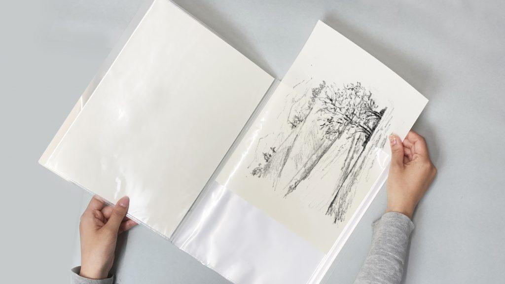 SN-クロッキー用紙・SN-スケッチ用紙説明画像