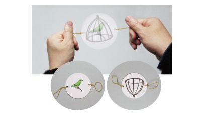 ソーマトロープ10個セット説明画像