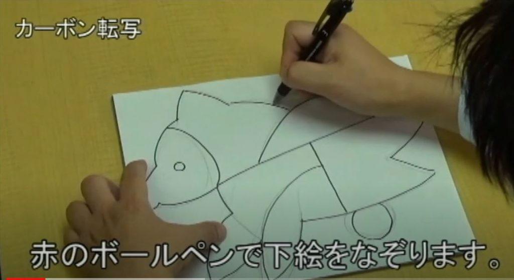 木版画やスニップアートで凸版画を体験しよう!説明画像
