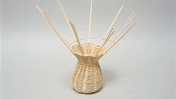 自然のツルを編んでオシャレな籐のカゴをつくろう説明画像