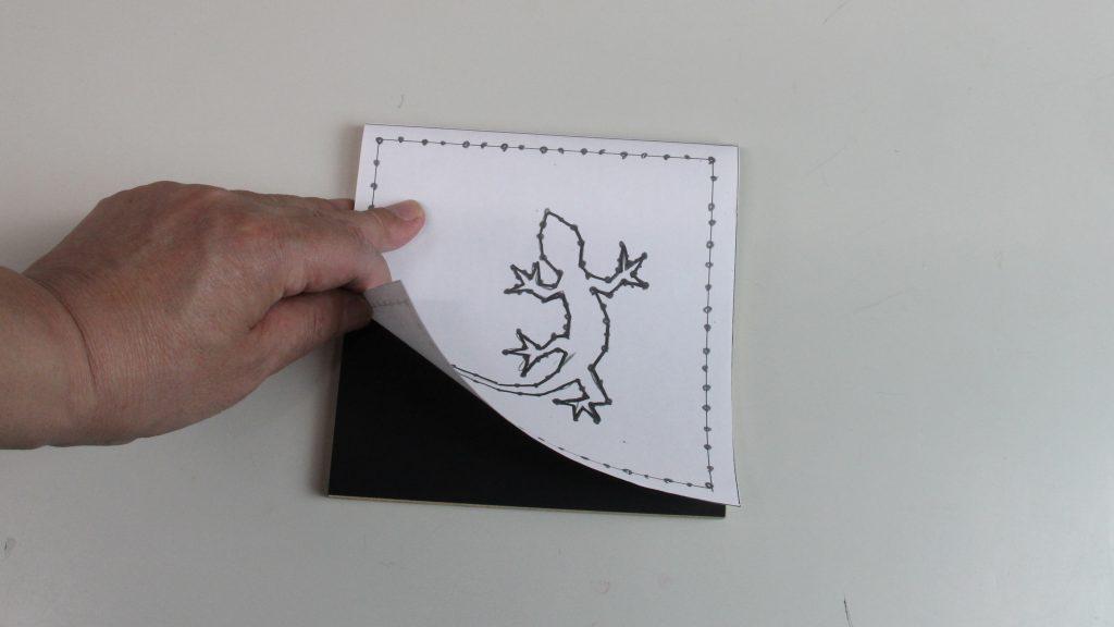 糸でアート&メタルワイヤーデザイン説明画像
