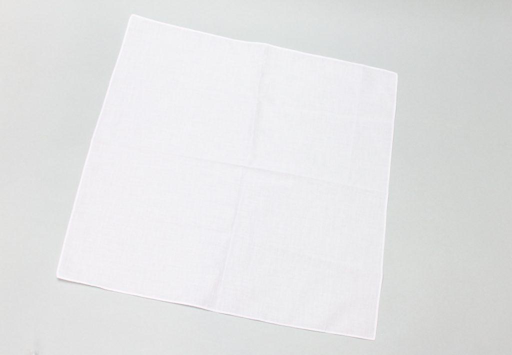 ゴム印と布素材説明画像