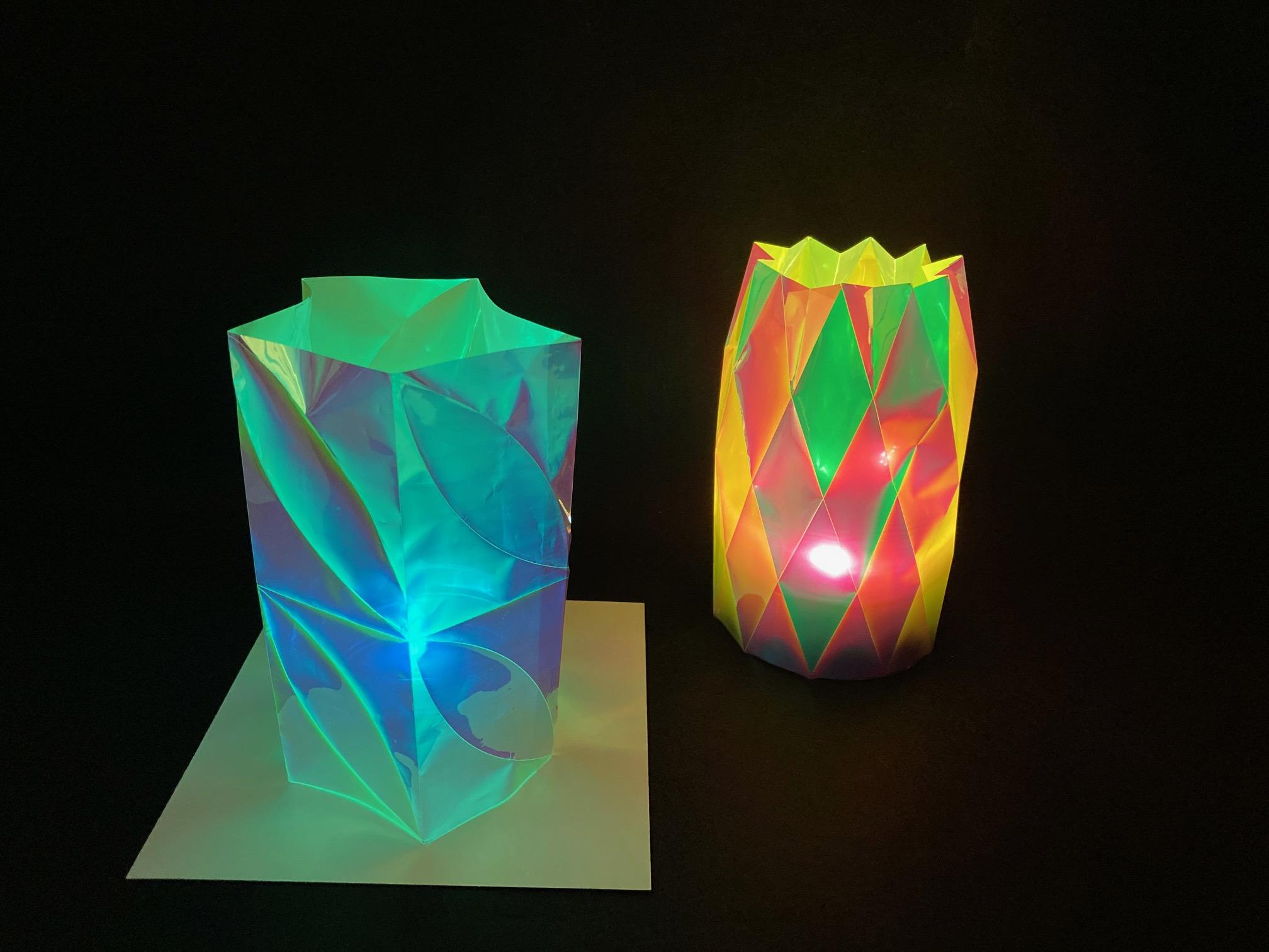 オリエステルおりがみⓇで作る立体ホログラムアートのメイン画像