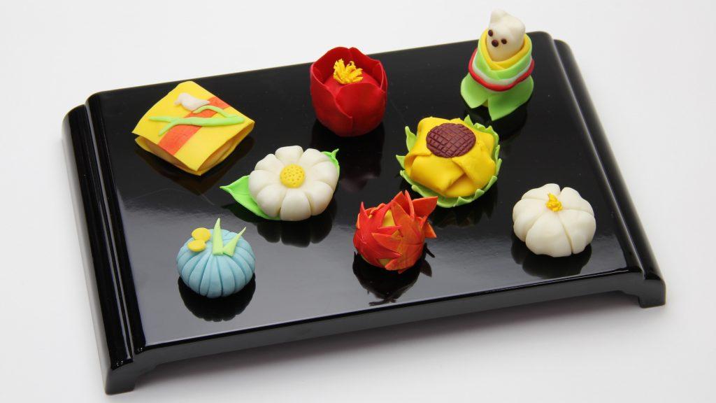 樹脂ねんどで四季を感じる和菓子をつくろう!説明画像