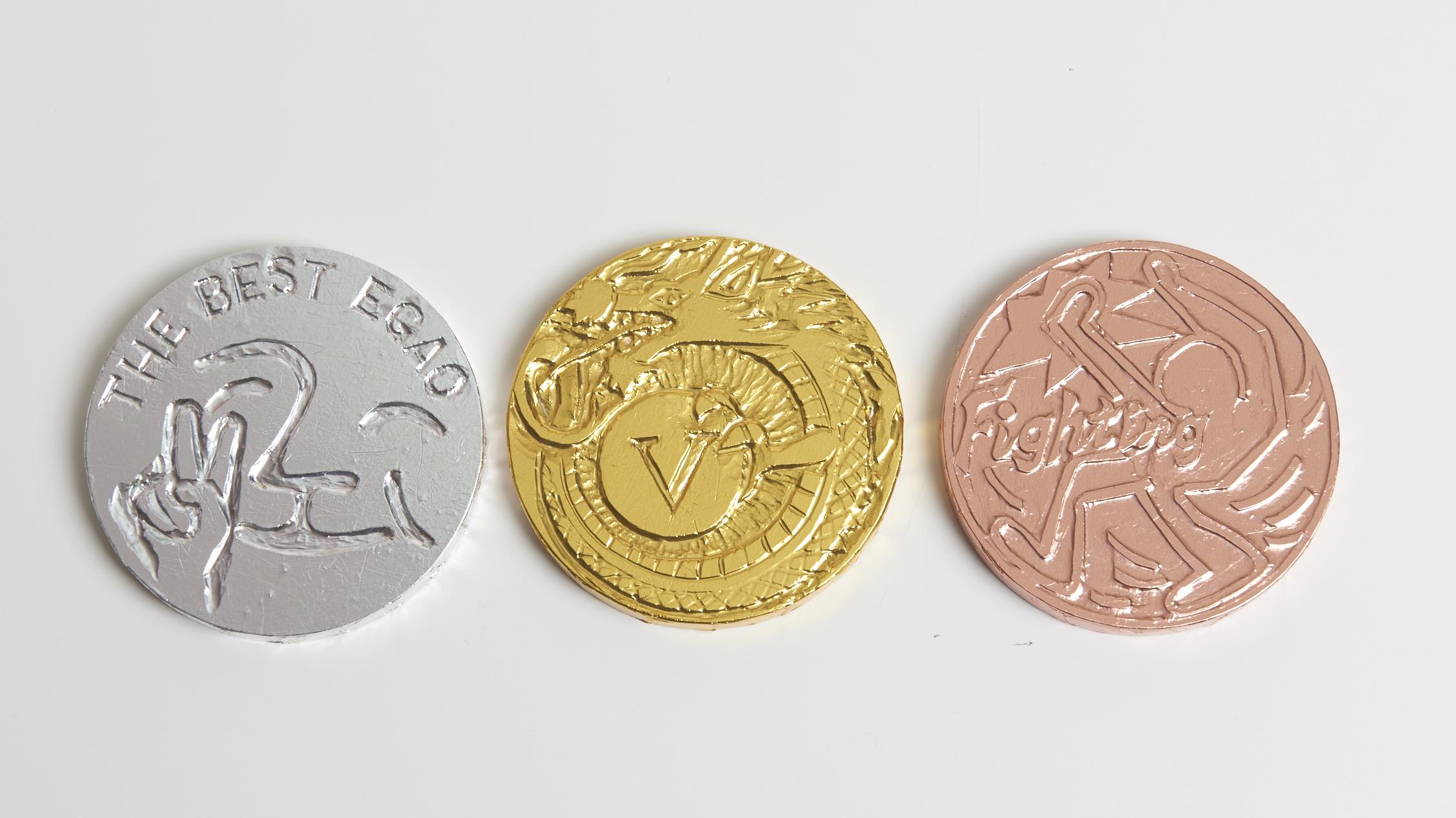 金・銀・銅のアルミ箔でメダルをつくろう!のメイン画像